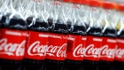 Bottles of Coca-Cola are seen at a Carrefour Hypermarket store in Montreuil, near Paris