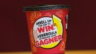 Tim Hortons Roll Up the Rim cup