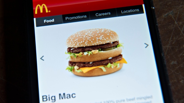 McDonald's app Big Mac
