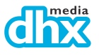 The corporate logo for DHX Media Ltd.