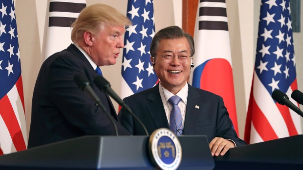 'Very close' to trade deal with S. Korea