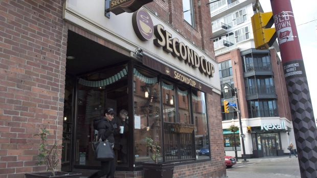 Second Cup signs deal to operate pot dispensaries in Western Canada
