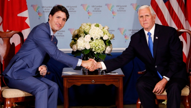 Nafta agreement could come in weeks pence and trudeau say article nafta agreement could come in weeks pence and trudeau say article bnn platinumwayz
