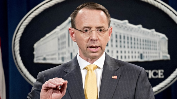 Rod Rosenstein Is Reportedly About to be 'Spit Roasted' by Trump's Defenders