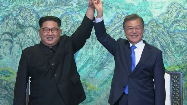 Korean leaders aim for 'complete denuclearisation' after historic summit