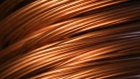Copper wire rod sits in a storage facility following manufacture at the Uralelectromed OJSC Copper Refinery, operated by Ural Mining and Metallurgical Co. (UMMC), in Verkhnyaya Pyshma, Russia, on Tuesday, March 7, 2017. Russias No. 1 zinc miner and No. 2 copper producer plans a far-reaching expansion of its diversified minerals output, billionaire co-owner and Chief Executive Officer Andrey Kozitsyn said in an interview.