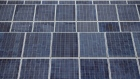 Suntech Power Holdings Co. photovoltaic solar panels stand at the Sri Chula solar farm, operated by Gunkul Engineering Pcl., in Nakhon Nayok, Thailand, on Thursday, Nov. 2, 2017. Gunkul, the most expensive energy stock in Thailand, plans to invest more than 20 billion baht ($599 million) in Japanese solar projects to boost earnings growth.