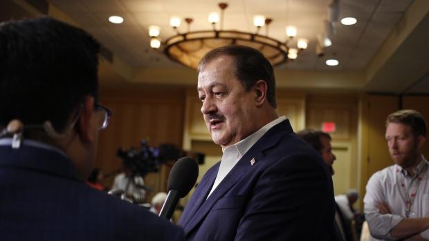 Blankenship Vows Third-Party Bid in West Virginia Senate