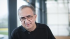 Sergio Marchionne, chief executive officer of Fiat Chrysler Automobiles NV, pauses during a Bloomberg Television interview at the automaker's annual general meeting in Amsterdam, Netherlands, on Friday, April 13, 2018. Fiat Chrysler said it's proceeding carefully with choosing the right internal candidate to replace long-standing Marchionne, in a bid to ease the challenge the transition poses.