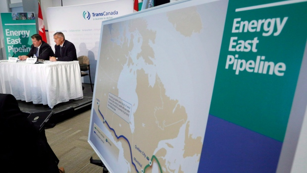 If you're buying Trans Mountain, where's your backing for Energy East: Raitt