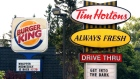 Burger King and Tim Hortons
