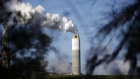 Emissions rise from the coal fired power plant in South Carolina, U.S.