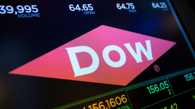 Dow Inc  jumps in first trading day after split from