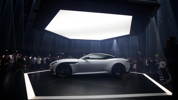 Aston Martin Debuts US DBS Superleggera Coupe BNN Bloomberg - Aston martin dbs price