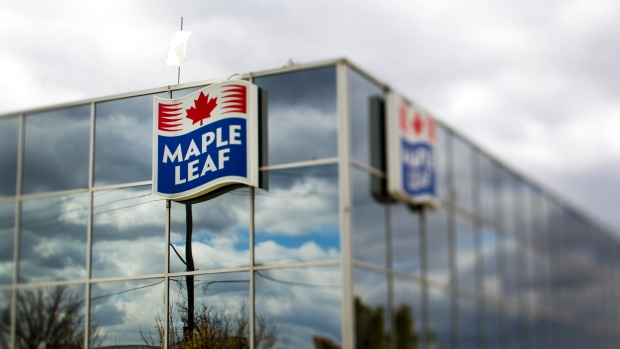Maple Leaf Foods processing plant Toronto October 2011