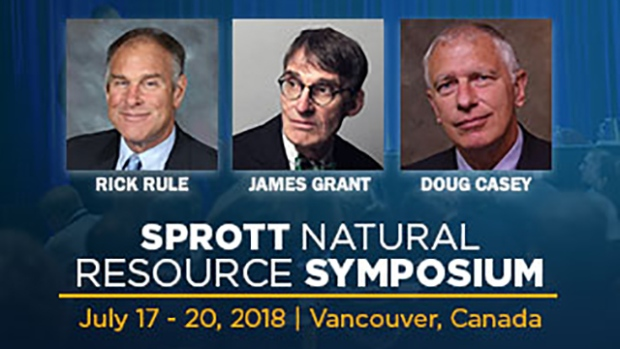 The Sprott Natural Resource Symposium at the Fairmont Hotel Vancouver