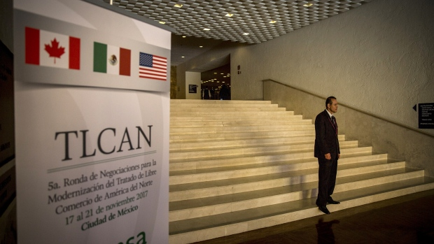 NAFTA talks Mexico Nov. 2017
