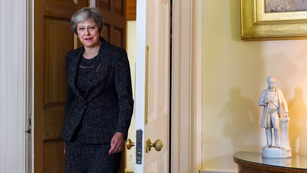 May says she will lead Brexit talks from now on