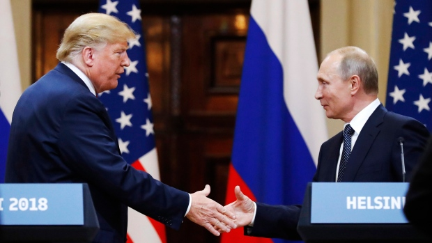 Vladimir Putin is not welcome on Capitol Hill, Republican leaders tell Trump