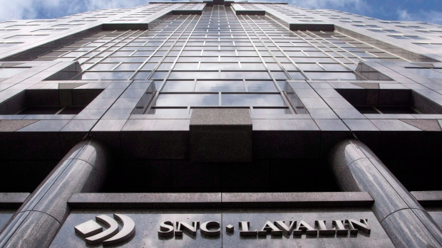 The offices of SNC Lavalin are seen in Montreal on March 26, 2012.