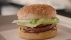 A&W Canada's Beyond Meat Burger