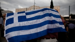 Greek bailout protests