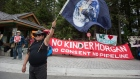 Kinder Morgan Canada Trans Mountain pipeline protestors