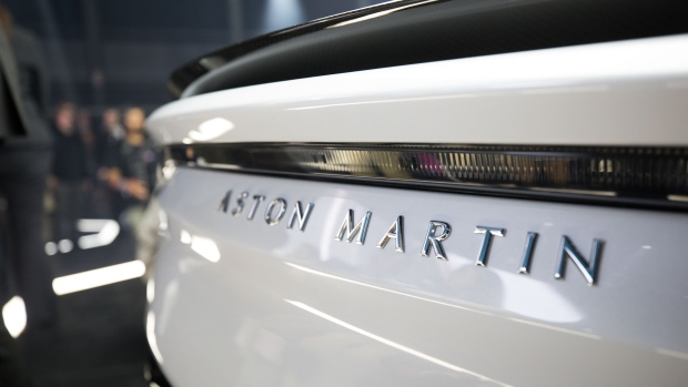 Aston Martin valued at £4.33bn as float begins