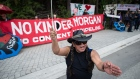 Trans Mountain protest