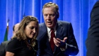 Robert Lighthizer and Chrystia Freeland