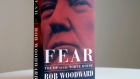 "A copy of Bob Woodward's ""Fear"" is photographed Wednesday, Sept. 5, 2018, in New York."