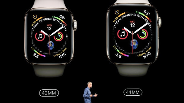 Apple Reveals Apple Watch Series 4 at iPhone XS Event
