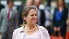 Canadian Foreign Affairs Minister Chrystia Freeland