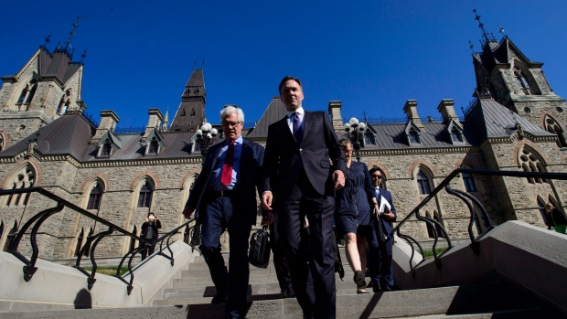 Jim Carr and Bill Morneau