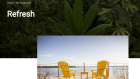 Lifestyle images appear on Cannabis NB's web site