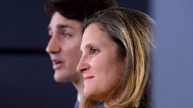 Freeland and Trudeau