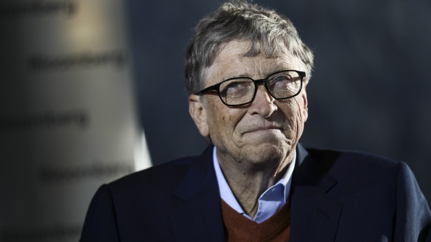 Bill Gates, billionaire and co-founder of the Bill & Melinda Gates Foundation.