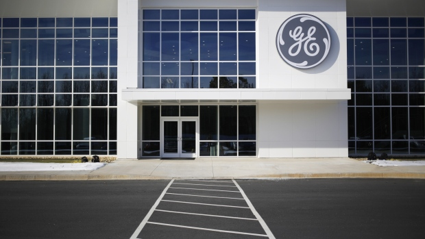 Signage is displayed outside the General Electric Co. (GE) energy plant in Greenville, South Carolina, U.S., on Tuesday, Jan. 10, 2017.