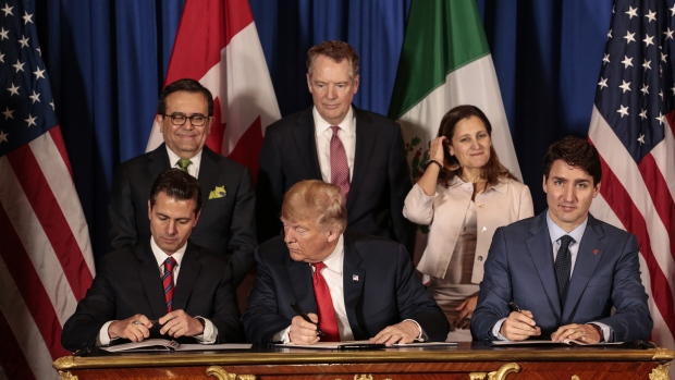 New NAFTA signing ceremony CUMSA