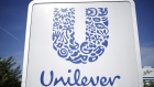 Signage is displayed outside the Unilever Plc ice cream facility in Covington, Tennessee, U.S., on Tuesday, Oct. 3, 2017. Unilever is scheduled to release earnings figures on October 19.