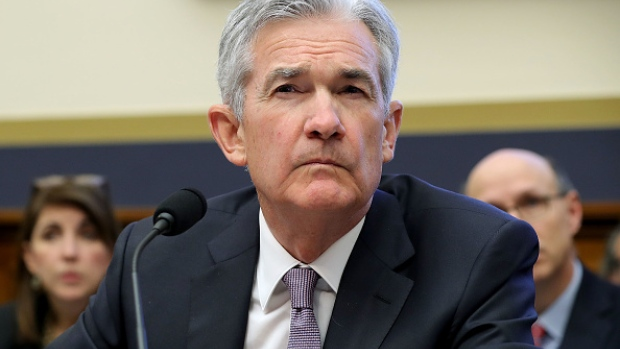 Fed Chairman Jerome Powell grapples with a rare occurrence in consumer sentiment.