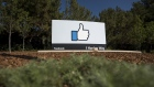 "The ""Like"" logo is displayed at Facebook Inc. headquarters in Menlo Park, California, U.S., on Thursday, Oct. 22, 2015. Facebook is expected to release earnings figures on November 4."
