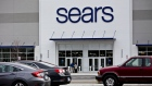 Shoppers enter a newly renovated Sears Holdings Corp. store in Oak Brook, Illinois, U.S., on Sunday, Oct. 14, 2018.