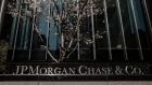 Signage is displayed outside a JPMorgan Chase & Co. office building in New York, U.S., on Wednesday, April 11, 2018. JPMorgan Chase & Co. is scheduled to release earnings figures on April 13.