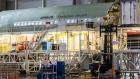 The fuselage of an Airbus A330neo passenger aircraft stands on the final assembly line at the Airbus SE factory in Toulouse, France, on Monday, Nov. 26, 2018.