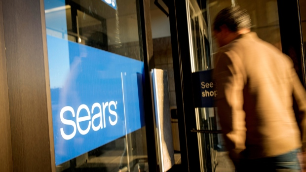 A customer enters a Sears Holdings Corp. store in San Bruno, California, U.S., on Friday, Dec. 28, 2018. Sears got another chance at survival after Chairman Eddie Lampert put together a last-minute, last-ditch bid to buy the retailer out of bankruptcy.
