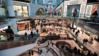 Crowds gather at the Eaton Centre in search of Boxing Day sales in Toronto on Wednesday, Dec. 26, 20