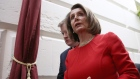 WASHINGTON, DC - JANUARY 23: U.S. Speaker of the House Nancy Pelosi (L) departs a meeting of the House Democratic caucus at the U.S. Capitol on January 23, 2019 in Washington, DC. U.S. President Donald Trump and congressional Democrats remain deadlocked in their positions regarding the partial shutdown of the federal government. (Photo by Win McNamee/Getty Images)