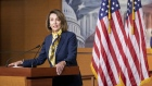 Pelosi speaks during a news conference at the U.S. Capitol on Jan. 24. Photographer: Alex Wroblewski/Bloomberg