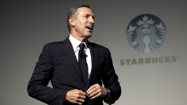 Howard Schultz Photographer: Nelson Ching/Bloomberg
